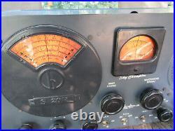 Vintage Hallicrafters S-20R Sky Champion Ham Radio Tube Receiver