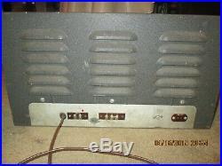 Vintage Hammarlund Communication Ham Radio Tube Receiver HQ-129-X 1963 AS-IS