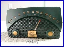 Vintage Motorola Radio Model 7XM 22 Green 1950's