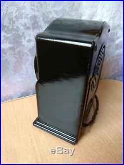 Vintage Old RARE Antique Soviet Russian RADIO speaker USSR Malutka Baby REAR
