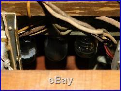Vintage Philco 10664 Bing Crosby Pop Out Record Player Tube Amp Radio Speaker