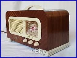 Vintage Philco AM/SW Tube Radio 41-221 (1941) BEAUTIFULLY RESTORED