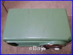 Vintage Philco Transitone Table Tube Radio Model 53-561 Code 121 Works