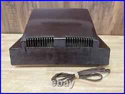 Vintage Philco Transitone Tube Radio Model 52 548 Bakelite 1952 Untested