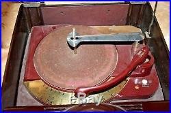 Vintage RARE 1951 Zenith Cobra,Matic H664 Bakelite Radio