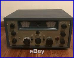 Vintage RARE TMC GPR-90 Communication Receiver Ham Tube Radio Military