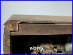 Vintage RCA AIR CHIEF Wooden Tube Shortwave Radio For PARTS/ RESTORE