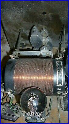 Vintage Radio Browning-Drake Receiver 4 Vacuum Tubes