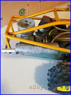 Vintage Radio Control Rc Sand Rail Dune Buggy Metal Tubing Roll Cage