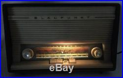 Vintage Rare BLAUPUNKT Ballett 20003 AM/FM SW Tube Radio Germany WORKS READ