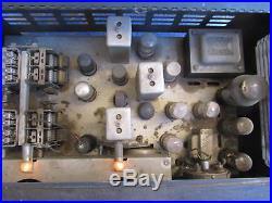 Vintage Rare Hallicrafters Super Defiant Receiver Tube Ham
