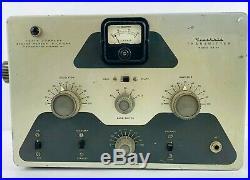 Vintage Rare Heathkit DX-20 Tube Amateur Transmitter Ham Radio Original Manual
