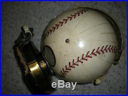 Vintage Rare Trophy Tube Official League Baseball Ball Novelty Radio PARTS REPAI