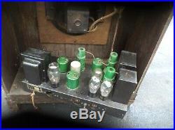 Vintage STROMBERG CARLSON TUBE Radio ART DECO ca 1934 CONSOLE