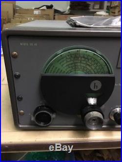 Vintage Serviced Hallicrafters SX-42 Shortwave Tube Receiver
