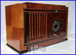 Vintage Stromberg Carlson 130-J AM/SW Radio (1937) RESTORED & STUNNING