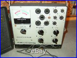 Vintage Tc 136 Sencore Vacuum Tube Checker Tester For Tv