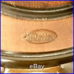 Vintage Working Unique ROLA CONE SPEAKER 17 HI Great Design 9 cone