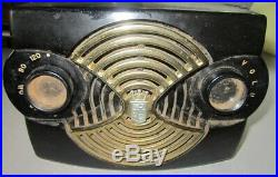 Vintage Zenith 4K01 Owl Face Tube Radio Repair/Restoration