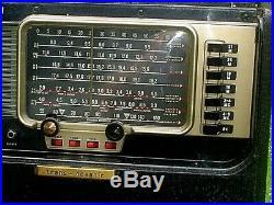 Vintage Zenith Trans-oceanic Wave Magnet A600 Radio