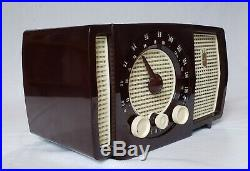 Vintage Zenith Y723R AM/FM Radio (1955) RESTORED TO PERFECTION