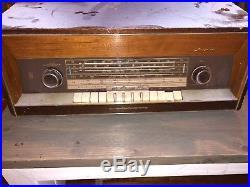 Vintage grundig tube radio 3600