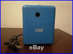 Vintage tome pepsi cola mexican cooler tube radio RCA blue bakelite from 50'S