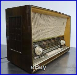 Vintage tube receiver Radio SABA Wildbad 125 Röhrenradio 1960-61