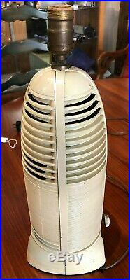 Vtg 1941 Lumitone Mitchell 1260 Bakelite Tube Radio Lamp