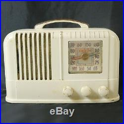 Vtg 1946 Arvin AM Radio Model 664A Chassis RE-206-1 Noblitt-Sparks Plays Well