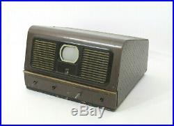 Vtg 1949 Pilot Radio 3 Tube TV Mid 20th Century Antique Original Television