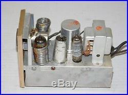 Vtg 1960s Knight KN-701 Audio Vacuum Tube Reverberation Unit Reverb Allied Radio