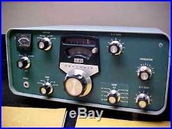 Vtg 1967 Heathkit Model SB-310 Tube Shortwave Receiver & Manual radio sw ham
