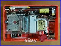 Vtg 50s KOYO Parrot KR-4S1 Subminiature PortableTube Radio & Original Box Japan