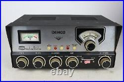 Vtg Demco Satellite 3-Piece CB Radio Base Station Caps/Tubes Replaced See Desc