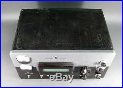 Vtg EF Johnson Viking Thunderbolt Ham Radio Transmitter Tube Power Amp Amplifier