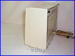 Vtg Philco twin dual speaker tube radio 1950s jetsons 826 836 orange pink salmon