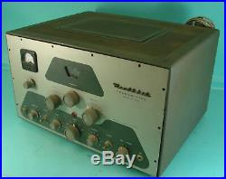 Vtg Rare Early Heathkit Model DX-100B Ham Shortwave Tube Type Radio Transmitter