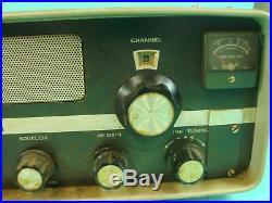 Vtg Sonar Model FS-32 AM Tube Type Radio Transceiver Receiver CB 23 Channel