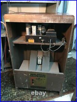 Vtg Stromberg Carlson Floor Short Wave Tube Radio 1930S Model 430 M Wood Case