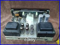 Vtg THE FISHER CA-40 mono Tube Amplifier 1950's WORKING with some AMAZING TUBES