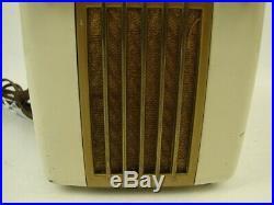 Vtg Westinghouse H-126 Retro Space Age Little Jewel Refrigerator Tube Radio