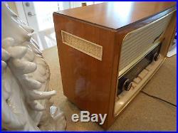 Vtg telefunken allegra stereo tube radio