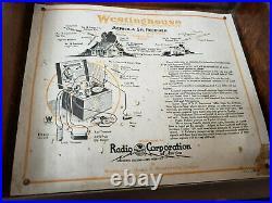 Westinghouse Aeriola SR Radio Receiver 1921 Vintage