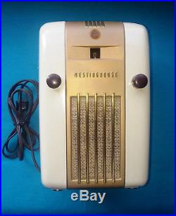 Westinghouse Little Jewel Fully Restored Vintage Radio