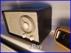 Working vintage SK 2/2 1950s Braun midcentury tube radio original condition