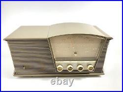 Works Great! Vintage B6n 1960 Motorola Atomic MID Century Table Top Tube Radio