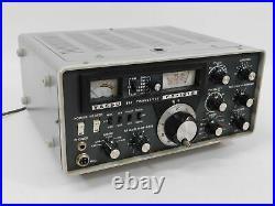 Yaesu FT-101B Vintage Tube Ham Radio Transceiver with AC Cord (original, untested)