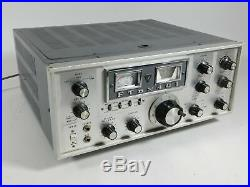 Yaesu FTdx401 Vintage Tube Ham Radio Transceiver (looks good, powers up)