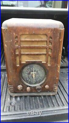 Zenith 1937 5s127 Tombstone Vintage Vacume Tube